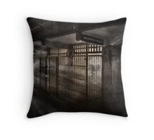 "The Ghost of Alcatraz  ""Bernard Paul Coy"" Throw Pillow"