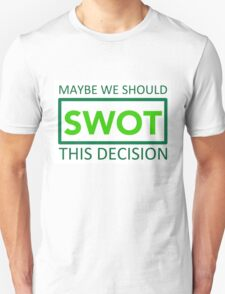 silicon valley swot green Unisex T-Shirt