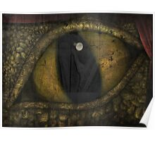 Dragon's Eye - Experiment - Tapestry Dragon Poster