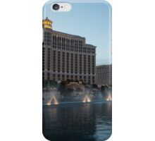 Early Evening Water Dance - Bellagio, Las Vegas iPhone Case/Skin