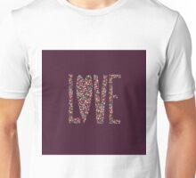 Love Flowers Floral Design Unisex T-Shirt