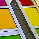 Colours of the rainbow - Joondalup Campus ECU, Perth, Western Australia by Karen Stackpole