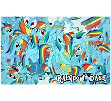 Rainbow Dash 'Splosion Photographic Print