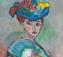 The Woman With The Hat(After Matisse) by RobynLee