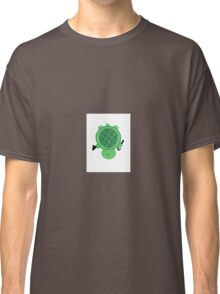Turtle With Top Hat and Cane Classic T-Shirt