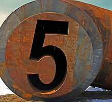 the number five by Lynne Prestebak