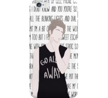 Luke Hemmings Disconnected iPhone Case/Skin