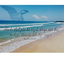 ANGEL BEACH PICTURE,PILLOW,TOTE BAG,TRAVEL MUG,CUPS,SCARF ,ECT... Photographic Print