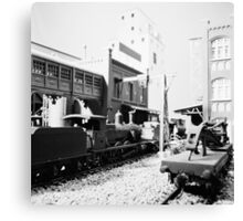 Special Freight Terminal and Headquarters, East end. 001 Canvas Print
