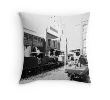 Special Freight Terminal and Headquarters, East end. 001 Throw Pillow