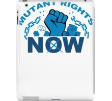 Mutant Rights Now iPad Case/Skin