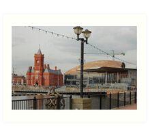 Cardiff Bay Art Print