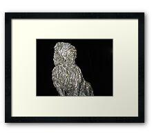 97 - GREYFRIAR'S BOBBY STATUE, EDINBURGH - 01 (D.E. 2010) Framed Print