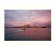 Early Light on Sydney Harbour Art Print
