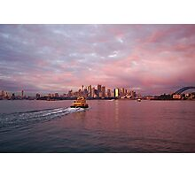 Early Light on Sydney Harbour Photographic Print