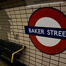 Baker Street Station London Underground by Brett Still