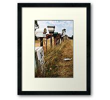 Mail. Framed Print