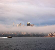 Sydney in thick fog by Puppy2