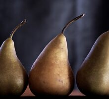 winter pears by Clare Colins
