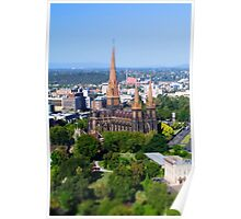 St Patrick's Cathedral, Melbourne Poster