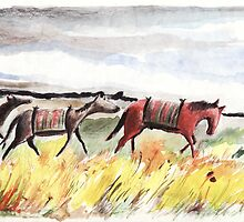 Horses by Atanas Vasilev