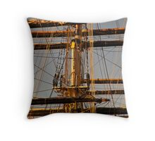 Sunset Rigging Throw Pillow