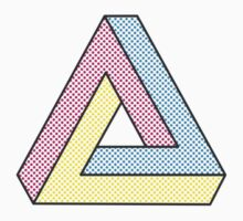 CMYK Penrose Triangle #2 Kids Clothes