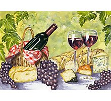 French Picnic Photographic Print