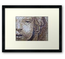 Mosaic in St. Peter's Basilica Framed Print