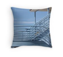 Steppin' to the Blues Throw Pillow