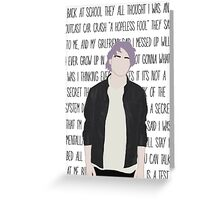 Michael Clifford Rejects Greeting Card
