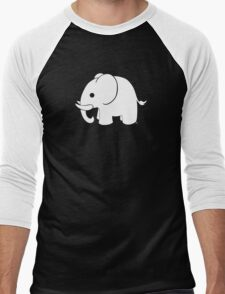 White Elephant Men's Baseball ¾ T-Shirt