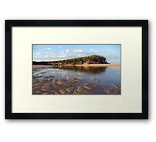 Lake Currimundi Framed Print