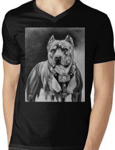 PITBULL 2 Mens V-Neck T-Shirt