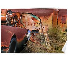 Multi Colored Rust   ( BoneYard Series ) Poster