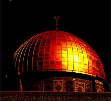 Dome of the Rock (Black) by ummahapparel