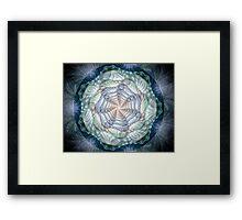 Pastels and Spirals Framed Print