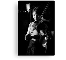 The Violinist II  Canvas Print