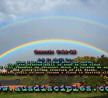 Genesis 9:14-15 Rainbow Sky by AusDisciple
