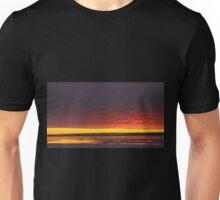 Sunset Gold at Churchill, Canada Unisex T-Shirt