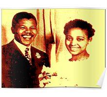 WINNIE & NELSON MANDELA Poster