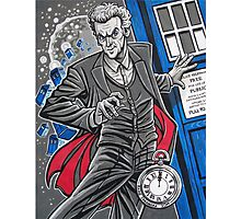 """The Twelfth Doctor (""""All Thirteen!"""") Photographic Print"""
