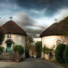 Veryan Houses - Cornwall landscape by Simon Marsden