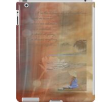 The Silence of Contemplation iPad Case/Skin