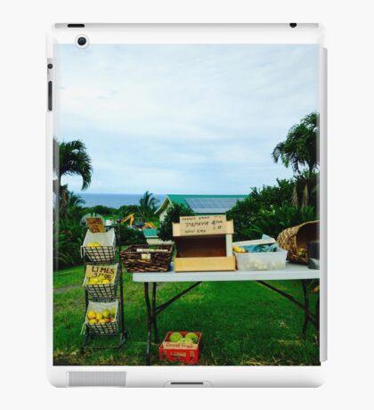 fruit stand iPad Case/Skin