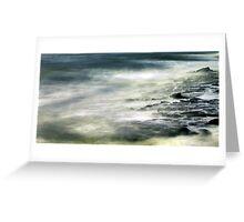 wave wandering.... Greeting Card