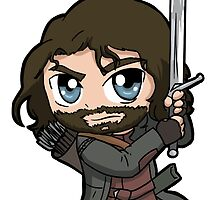 aragorn by Nickyparson