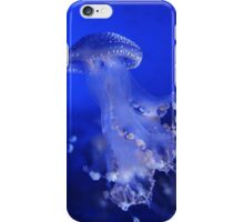The Beauty of A Blue Jellyfish iPhone Case/Skin
