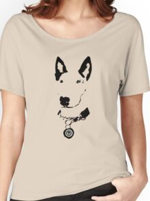 Lola English Bull Terrier Tee 2 Women's Relaxed Fit T-Shirt