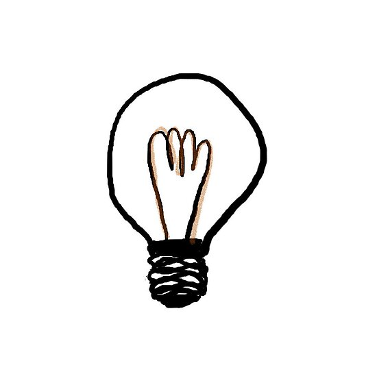 The Lightbulb Of Genius by MissJones